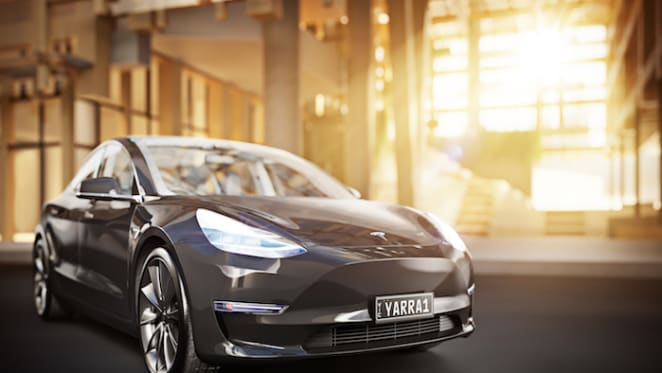 EcoWorld introduces Tesla car-sharing for Yarra One Development