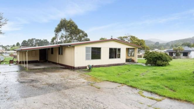 Zeehan, Tasmania mining town cottage listing by mortgagee