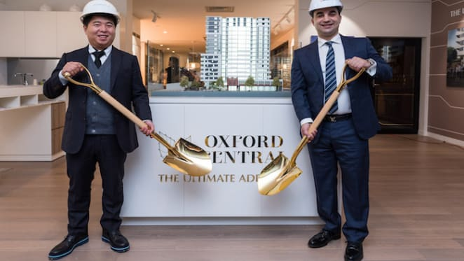 Construction starts on Greaton's Oxford Central