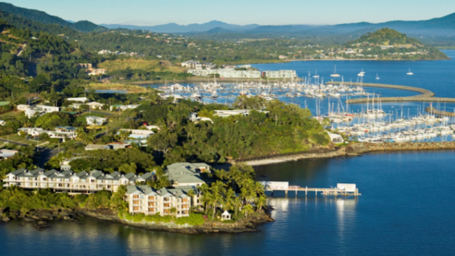 Coral Sea Resort at Airlie Beach listed for sale