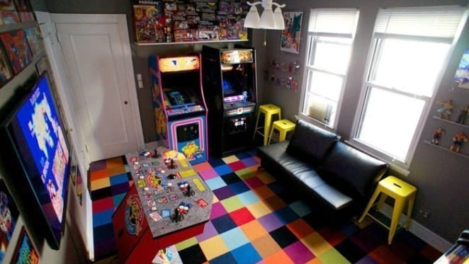 Renovation recreation: How to turn your bedroom into an arcade
