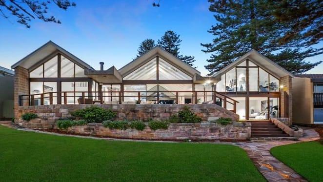 Avalon Beach beachfront pavilion style home hits the market