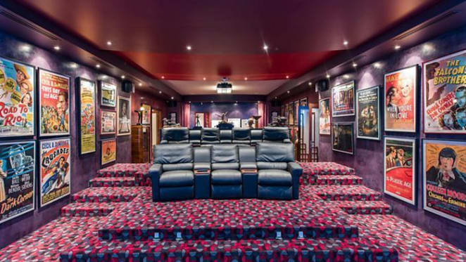 The award goes to... Canberra trophy home with full theatre listed