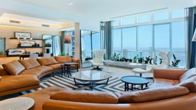 Ron Bakir's record $9.5 million Surfers Paradise penthouse sale