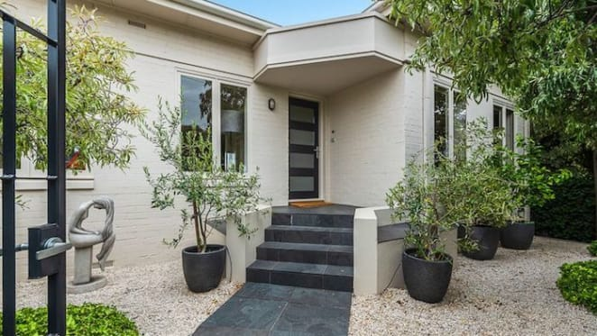 Minimalist style home in Battery Point, Tasmania sold