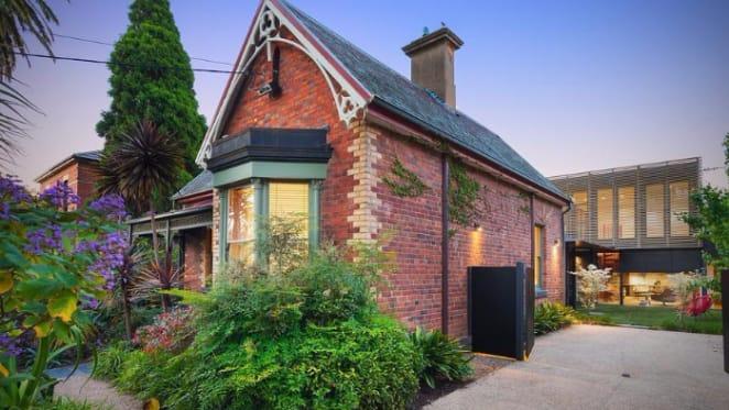Gothic Revival facade hides Austin Maynard-designed Northcote trophy home