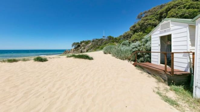 Bathing box 1 Point King Road, Portsea listed for Australia Day auction