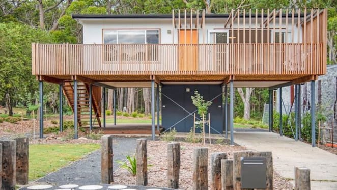 Renovated 1960s Bendalong holiday home surrounded by national park listed