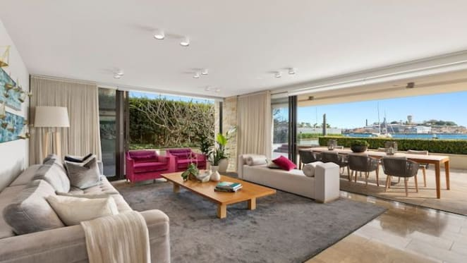 Birchgrove trophy waterfront apartment hits the market