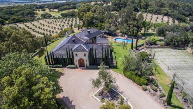 Award-winning Mornington Peninsula olive estate for sale