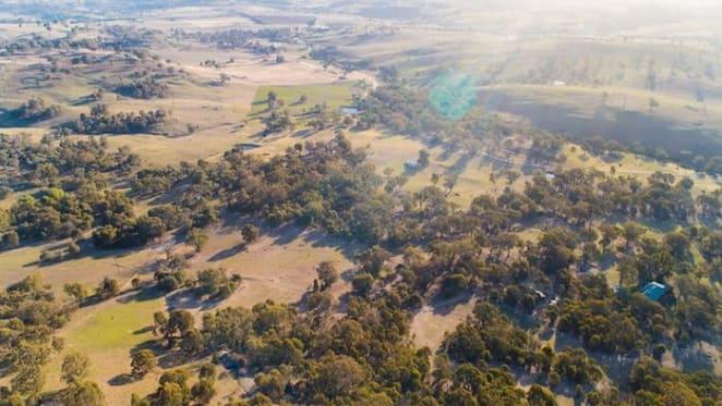 World champ sells dormant volcano rural retreat