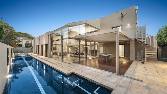 Brighton trophy home with bay views listed