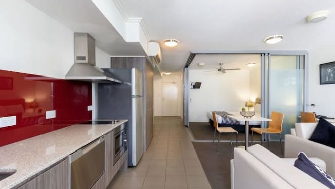 Mortgagee unit in South Brisbane's Capitol building listed with price reductions