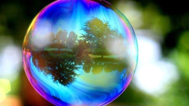 If it looks like a bubble and sounds like a bubble…