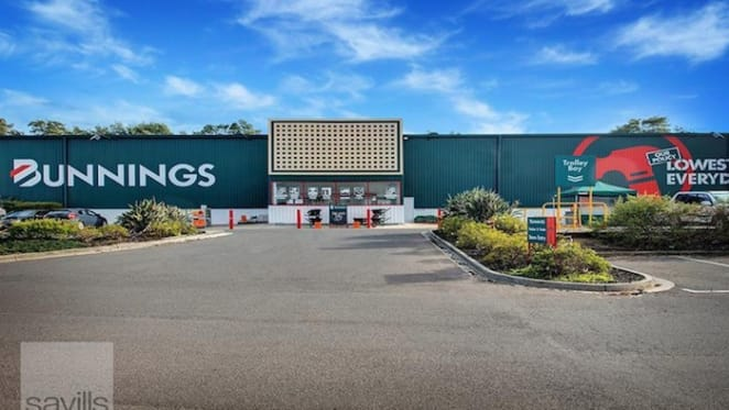 Bunnings building in Warragul on the sales block