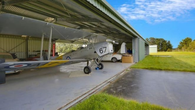 Tyabb property with aircraft hangar flies on to the market