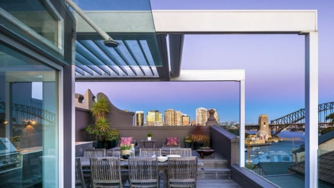 Lavender Bay trophy home with George Freedman interiors listed