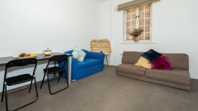 Author Sue Wolfe lists redundant Darlinghurst apartment