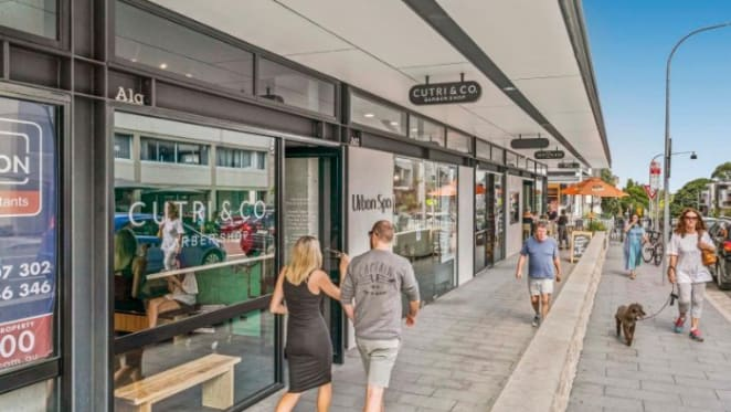 Empty Glass, Rozelle retail investment premises sell