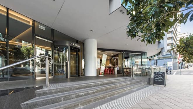 Office property investment at Chatswood sold at auction