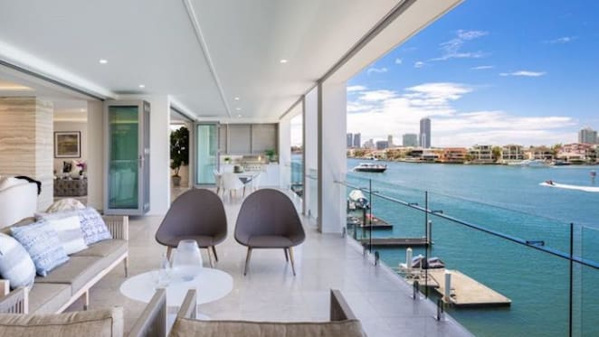 Final apartment in River Isles, Chevron Island complex listed