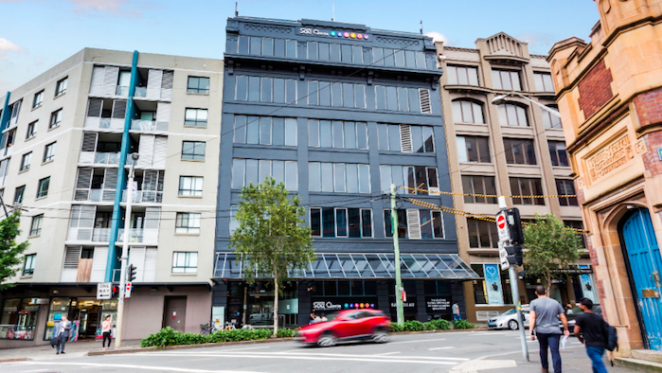 Navitas office property in Sydney's Chippendale listed