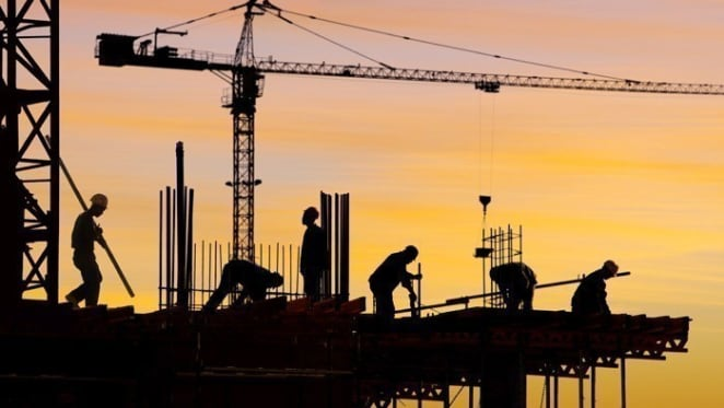 Apartment construction continues to slide