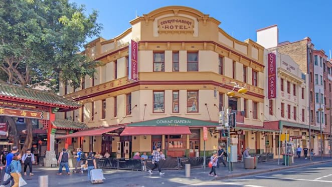 Convent Garden Hotel premises in Sydney's China Town quietly sold