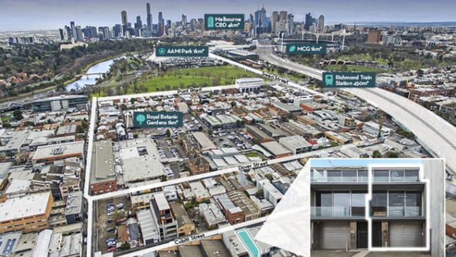Boutique Cremorne, Melbourne investment snapped up prior to auction
