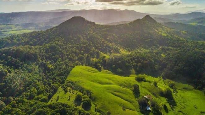 Mortgagees list 23 hectare land parcel at Mt Chincogan, Mullumbimby
