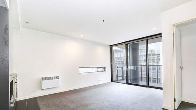 A one bedroom Docklands apartment has been offered by mortgagee
