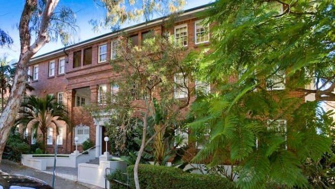 Property executive Banjo Bond lists Double Bay apartment
