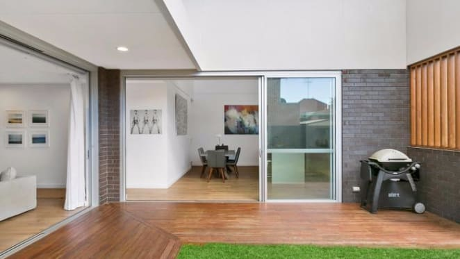 Rabbitohs' George Burgess enlists former teammate to help sell Chifley home