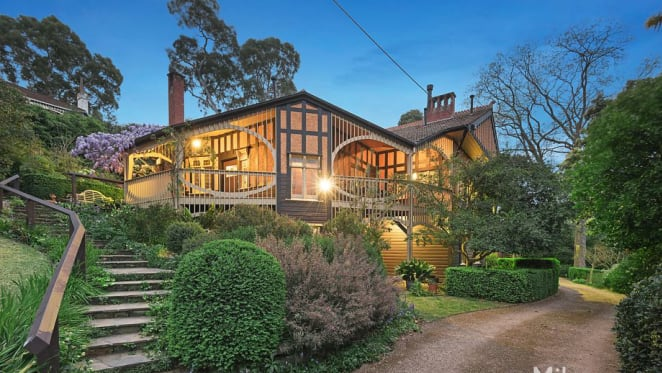 How architect Harold Desbrowe-Annear left his medieval touch on Melbourne's north-east