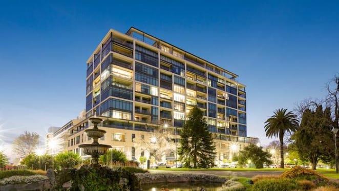 Hospitality Group co-founder Brad Harris lists East Melbourne penthouse