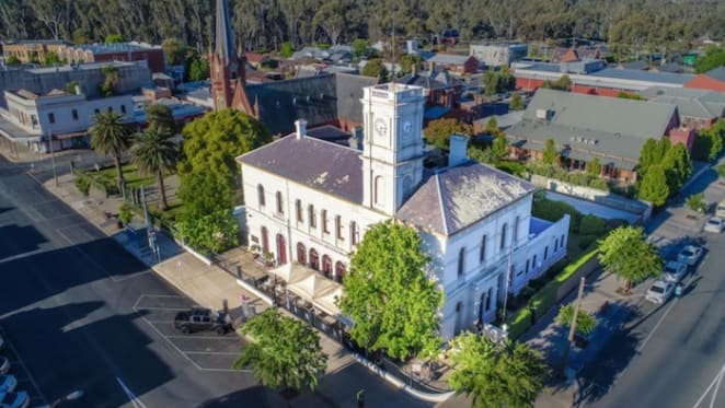 Part of the old Echuca Post Office set to go under the hammer