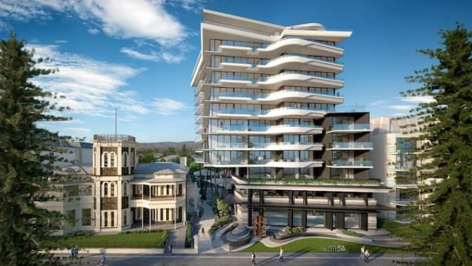 Glenelg South luxury unit in EI8HT building listed for sale