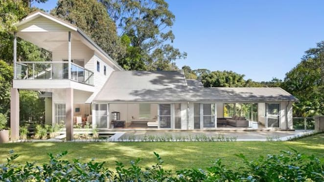 Film editor David Gross buys in the Byron Bay hinterland