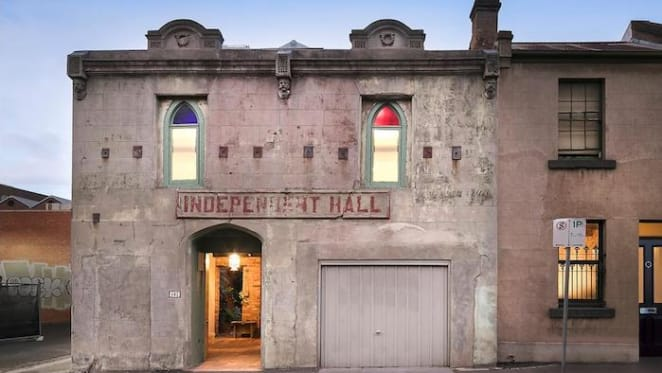 Fitzroy's former Independent Hall converted and listed