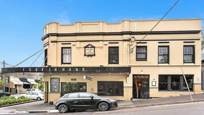 Paddington's Four in Hand Hotel for sale as a house