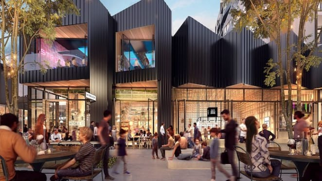 The inside-out shopping centre of the future