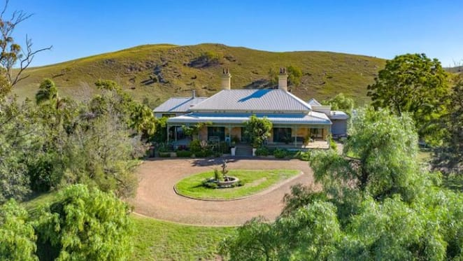 Landmark Hunter Valley rural property Glen Nevis listed