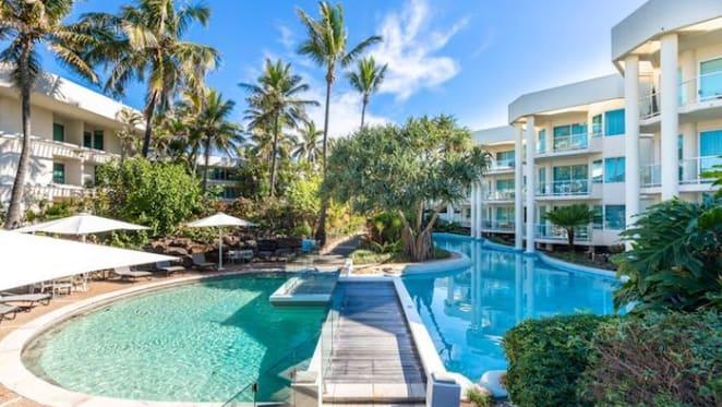 Fashion designer Charlie Brown lists Gold Coast holiday home