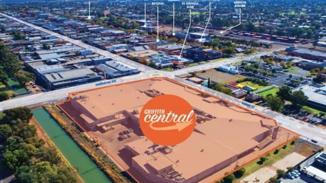 Griffith Central shopping centre for sale