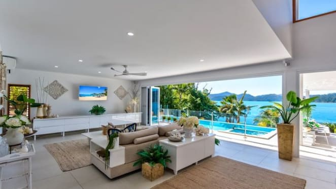 Lotus House on Hamilton Island listed for first time since early '80s