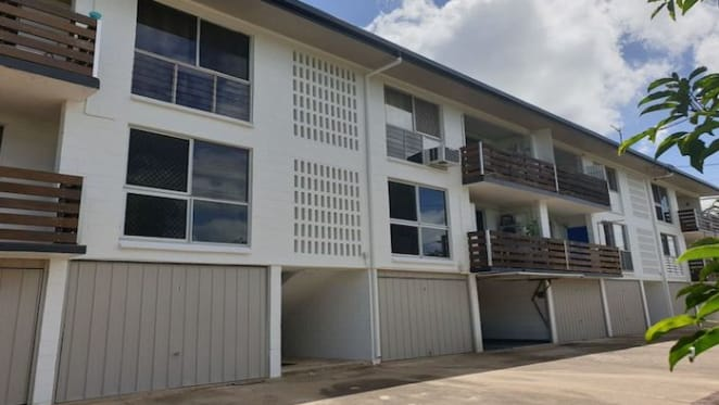 Two bedroom Hermit Park, Queensland unit listed by mortgagee