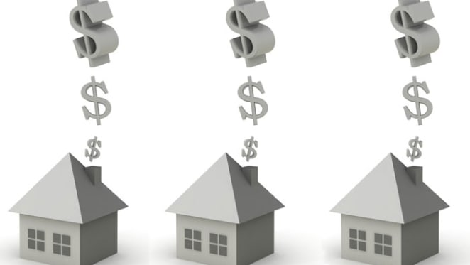 How have house and unit values changed over the past decade?