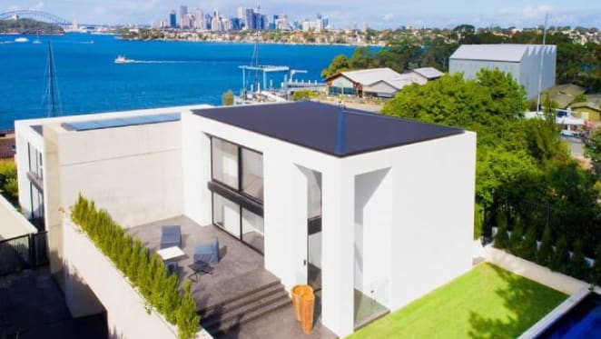 Brand new Hunters Hill trophy home on the market
