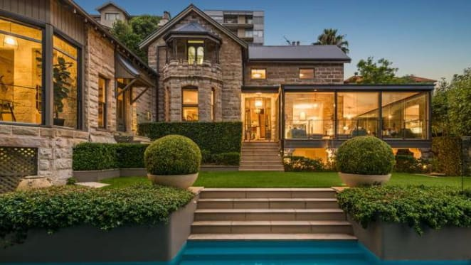 Western Sydney Wanderers co-owner lists gothic Mosman trophy home