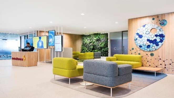 AstraZeneca Australia's new, agile office uses 'zones' to keep staff engaged